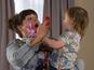 Hollyoaks pics: Tegan takes pity on Diane