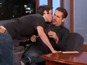 Fan tries to sniff Colin Farrell on TV
