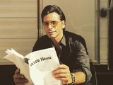 John Stamos poses as Uncle Jesse
