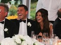 Best man Josh Wright shares photos of the couple's smiles, laughter... and nerves.