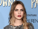 Cara Delevingne attends the Paper Towns New York Premiere at AMC Loews Lincoln Square on July 21, 2015