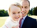 Prince William and his baby boy are having the time of their lives in a cute new photo.
