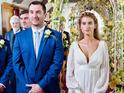 Charley Webb promises an explosive wedding reception for Debbie.
