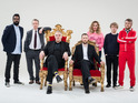 Greg Davies and Alex Horne will set ridiculous challenges for five top comics in tonight's Taskmaster.