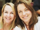 Xena the Warrior Princess and Gabrielle reunite for a cute selfie