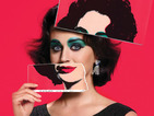 The 'Dark Horse' popstar recreates the timeless style of Elizabeth Taylor for a magazine shoot.