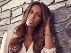 Xtra Factor's Rochelle Humes goes for '70s chic as she models her latest fashion range