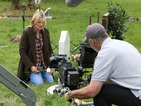 See Jane Beale visit Lucy's grave in new EastEnders filming pictures