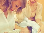 Taylor Swift shares some heartbreakingly cute pictures as she meets her godson for the first time