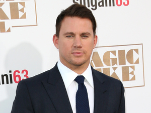 Channing Tatum attends the premiere of Magic Mike XXL