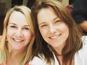 Renee O'Connor and Lucy Lawless reunite