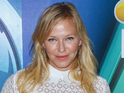 Kelli Giddish is expecting her first baby with new husband Lawrence Faulborn.