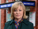 Laurie Brett is enjoying exploring a darker side to her character.