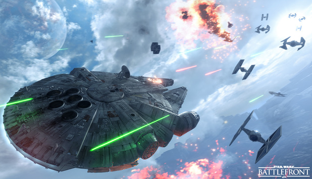 Star Wars Battlefront Fighter Squadron mode