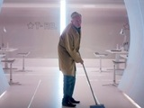 X Factor trailer: Louis Walsh as a cleaner