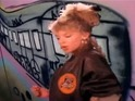 Kylie Minogue - The Loco-Motion video, graffiti