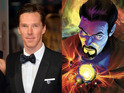 Benedict Cumberbatch gets his movie franchises muddled as he introduces Doctor Strange.