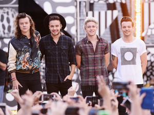 One Direction on Good Morning America: Harry Styles, Louis Tomlinson, Niall Horan, Liam Payne (August 2015)