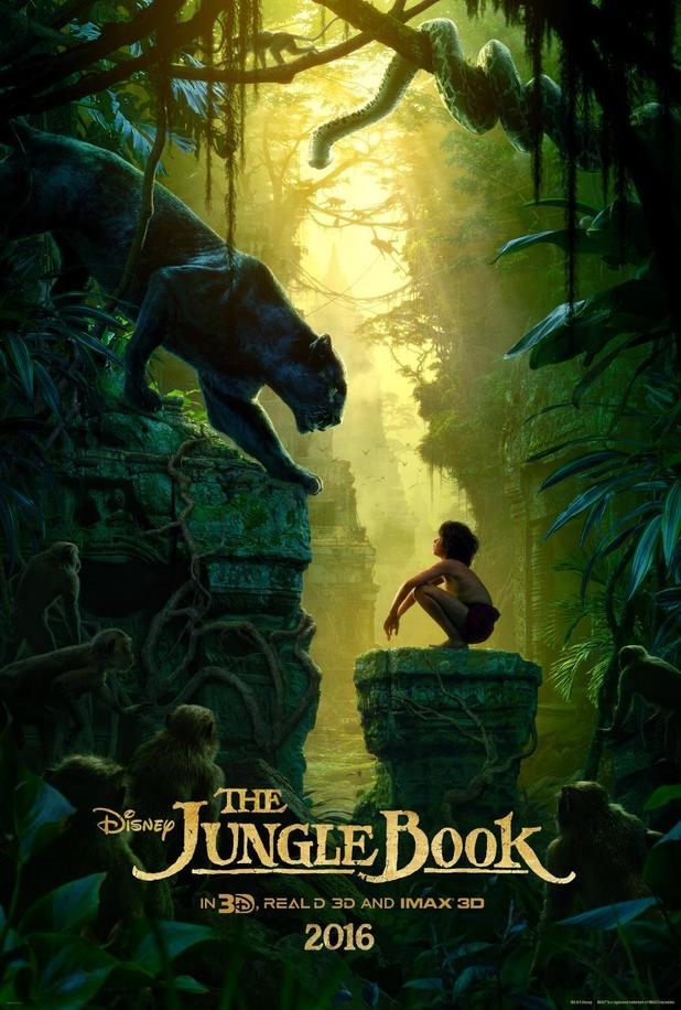 Image result for jungle book movie poster