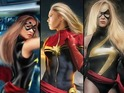 Rousey shares some of her favorite fan edits starring herself as Carol Danvers.