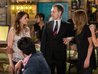 Robert wonders why Tracy is suddenly sympathetic towards Carla.