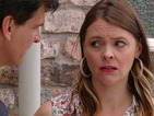 Will Tracy be forced to come clean with Robert about the fire?
