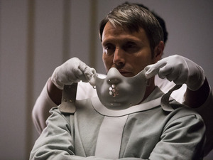 Mads Mikkelsen as Hannibal Lecter in Hannibal S03E13: 'The Wrath of the Lamb'