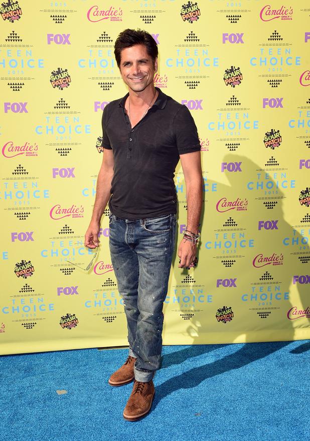 John Stamos arrives at the 2015 Teen Choice Awards. - Teen Choice ...