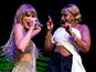 Mary J Blige joins Taylor Swift on stage