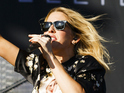 The sunshine returned for Goulding's hit-filled set.