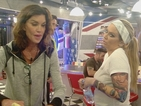 Celebrity Big Brother: Janice clashes with Jenna after stealing her kosher food