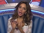 "Celebrity Big Brother's Farrah Abraham calls James a ""dipshit"""