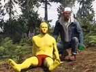 Trevor plays the role of Ash Ketchum in a GTA 5 recreation of Pokemon