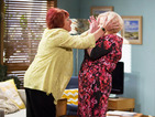 Soap Spoilers: Sheila and Angie fight in Neighbours and a fire breaks out in Home and Away