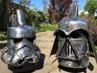 Darth Vader fire burner video goes viral on Facebook with over 12 million views