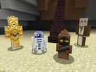 Now you can downoad Minecraft's Star Wars skin packs for PlayStation