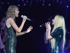 Avril Lavigne is the latest star to join Taylor Swift on stage for a duet