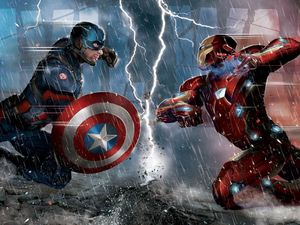 Captain America: Civil War promo art