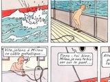 Tintin au Congo à poil