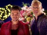 Peter Andre, Iwan Thomas, Daniel O'Donnell in trailer for the Strictly launch show