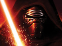 Adam Driver as villain Kylo Ren in Star Wars: The Force Awakens