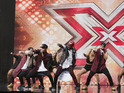 Five-piece bring a bit of Uptown Funk to the X Factor auditions on Sunday night.