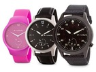 The Runtastic Moment is a smartwatch with an analogue face