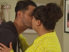 Hollyoaks: Will Ziggy and Tegan come clean to Leela after passionate kiss?