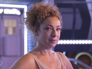Alex Kingston in the Doctor Who 2015 Christmas special