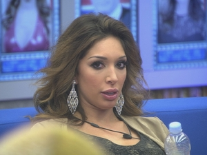 Farrah Abraham is shocked on day 4 in the Celebrity Big Brother house