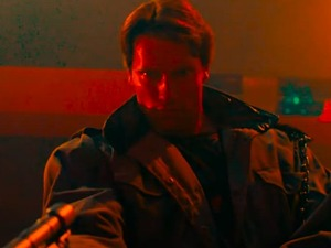 The Terminator in Hell's Club video