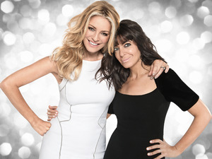 Strictly Come Dancing 2015: Tess Daly and Claudia Winkleman
