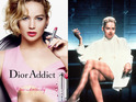 Jennifer Lawrence for Dior + Sharon Stone in Basic Instinct