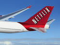 The whole of Netflix is being squeezed into a box for your future flights.